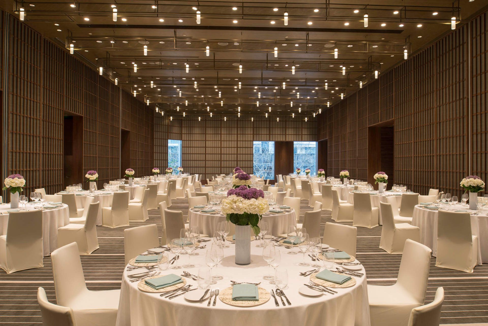 The Sukhothai Shanghai Grand Shanghai Ballroom Events Wedding