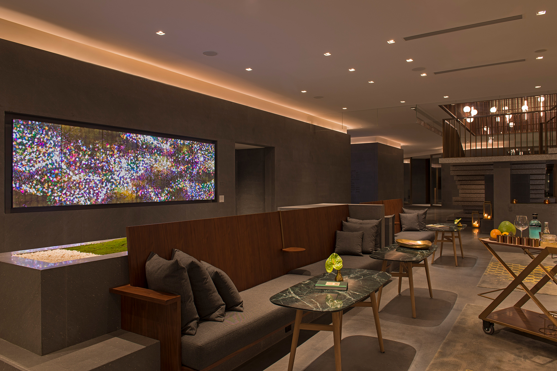 The Sukhothai Shanghai Restaurant URBAN Lounge Bar Gin